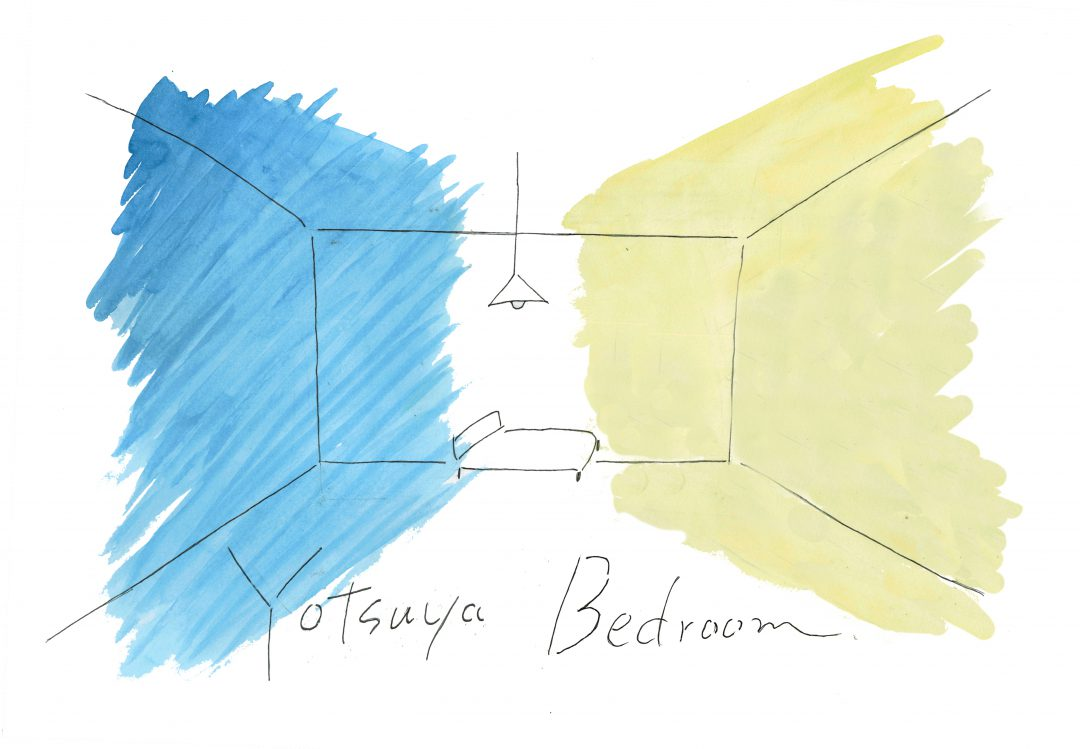 YOTSUYA BEDROOM_イメージビジュアル
